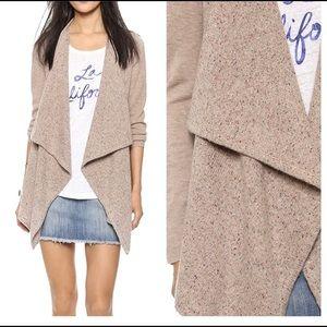 JOIE • Starley Cardigan Sweater Wool Blush Oatmeal